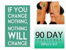 Take the 90 Day Challenge Right Here