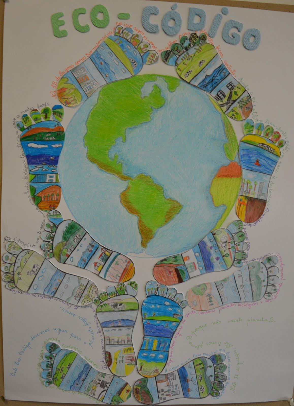 Programa Eco-Escola - Poster Eco-Código