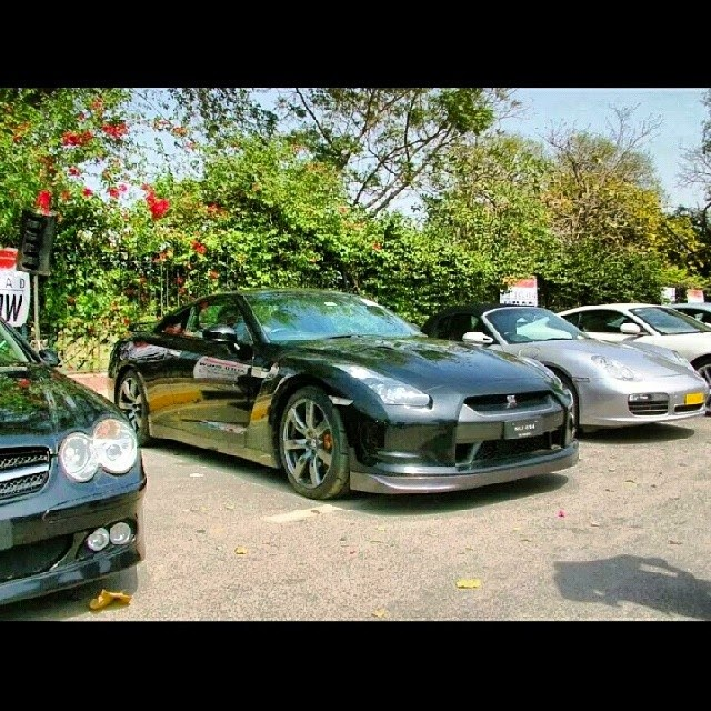 GTR,Lamborghini and Mercedes of Sardar ayaz sadiq