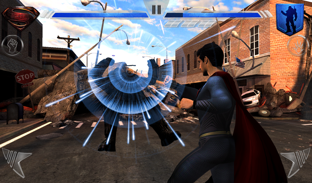 Free Download Game Man of Steel .APK Full Data
