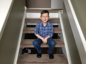 Our sweet school age boy