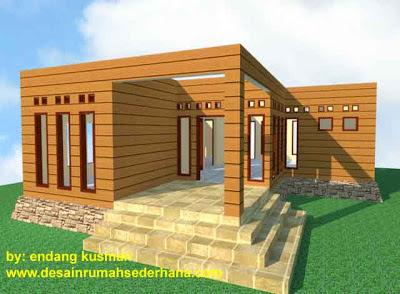Gambar Desain Rumah Mungil Minimalis3 - 3D