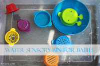Water Sensory Bin for Babies