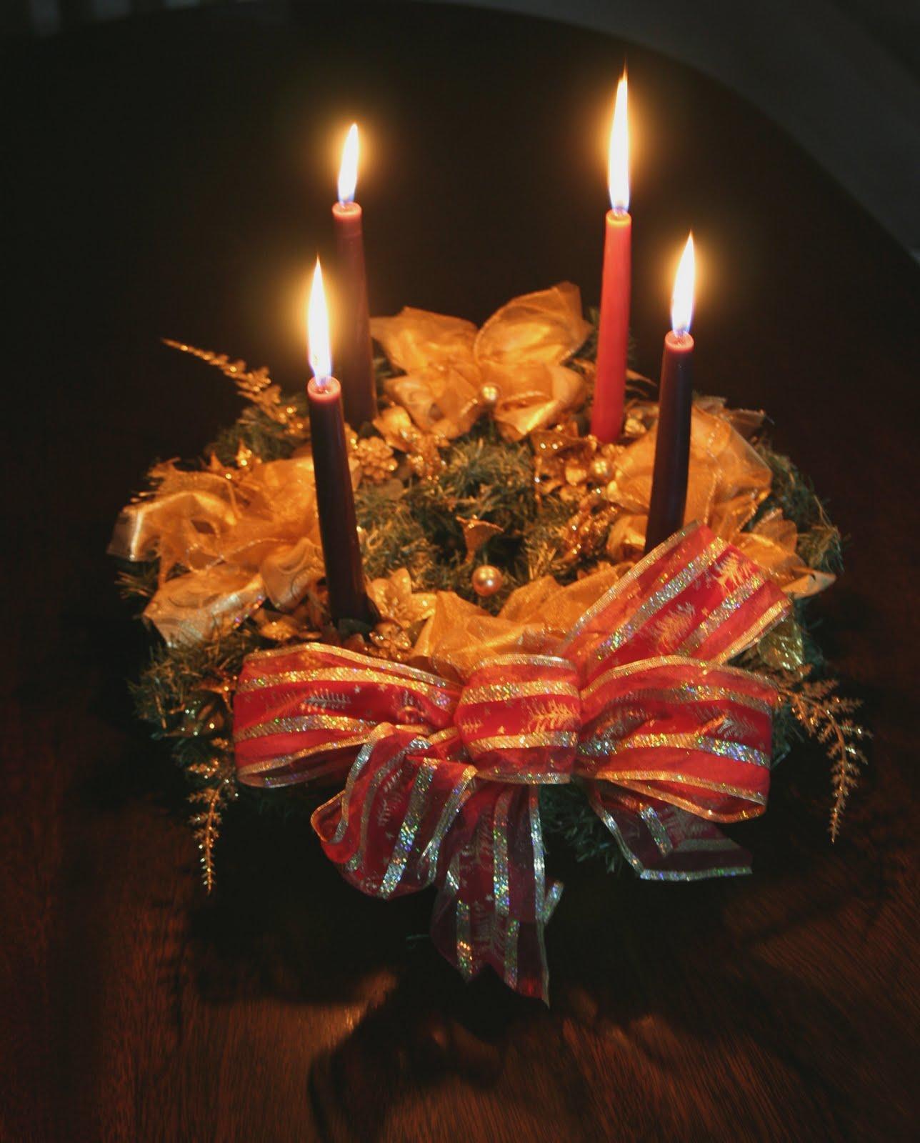 De adviento la corona o guirnalda de adviento es el primer - Guirnalda de navidad ...