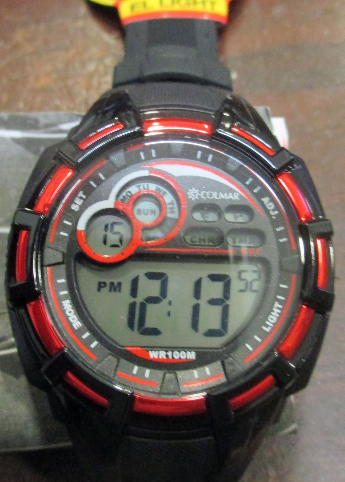 Reloj Colmar digital caballero