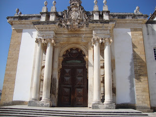 Joanina Library door photo - Coimbra