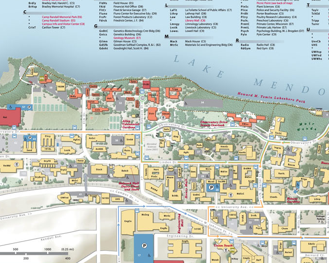 Cartonerd Uw Madison Campus Map