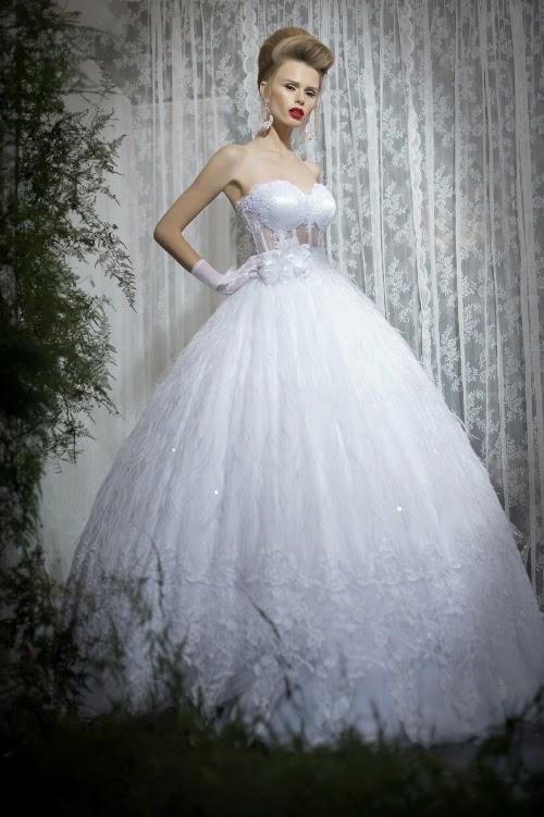 Los mejores Vestidos de novia 2014