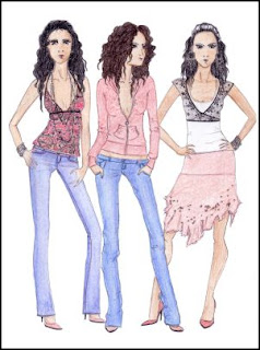 fashion designing drawings