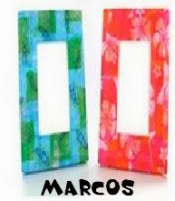 http://manualidadespapel.blogspot.com.es/2014/01/marcos-de-papel.html