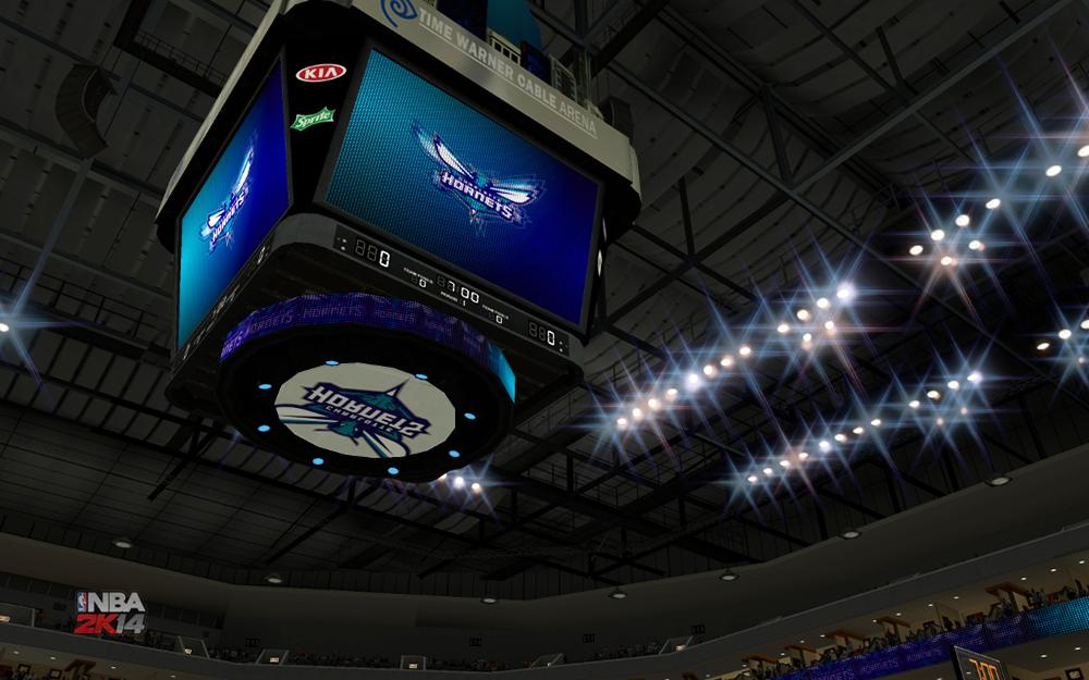 Time Warner Cable Arena Charlotte Hornets NBA 2K14