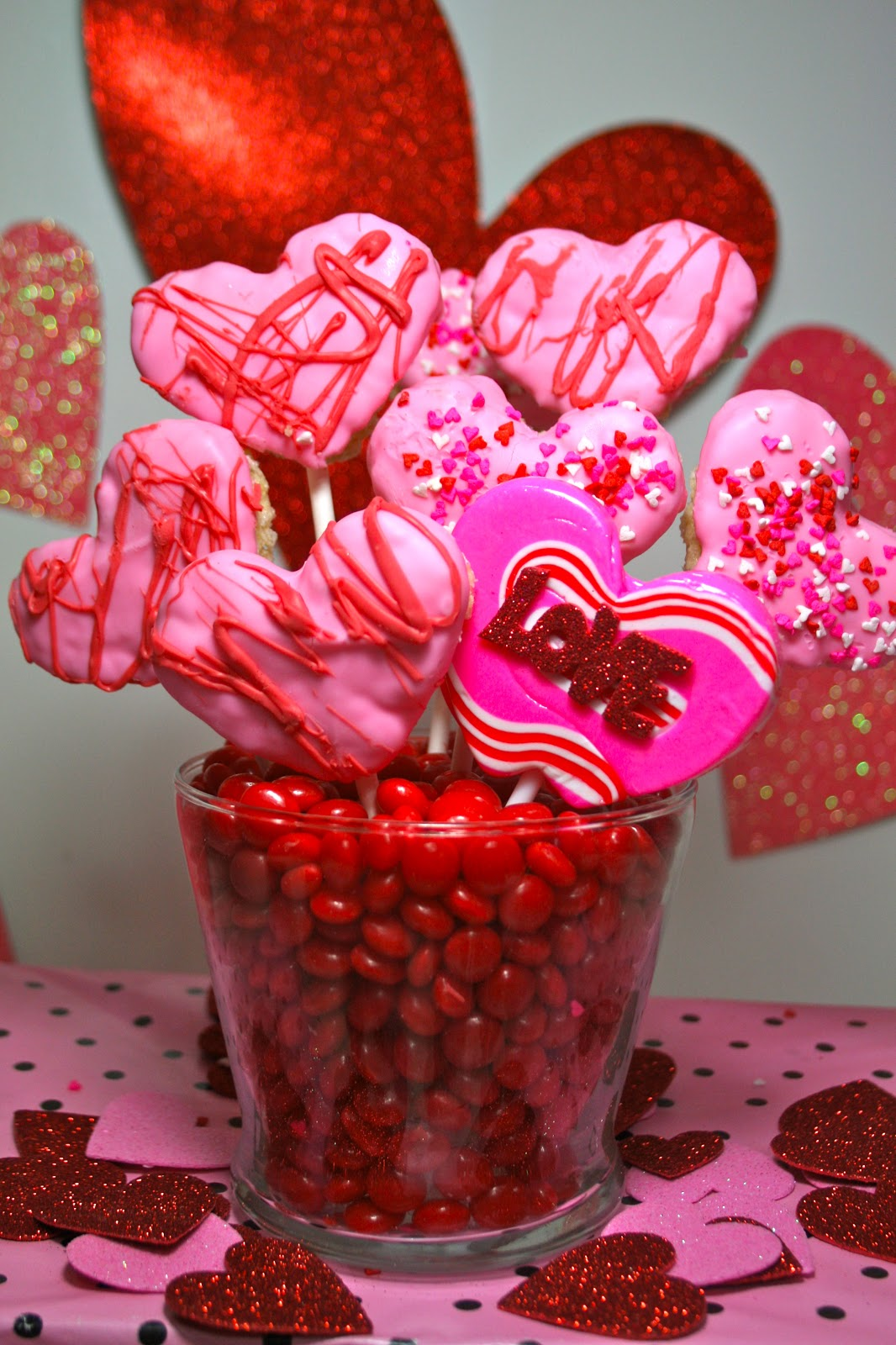 Valentines Day Candy Cake Pop Cookie Bouquets Amp Edible