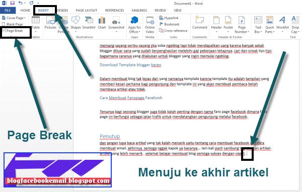 bagaimana cara membuat daftar isi pada artikel