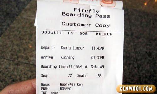 firefly boarding pass