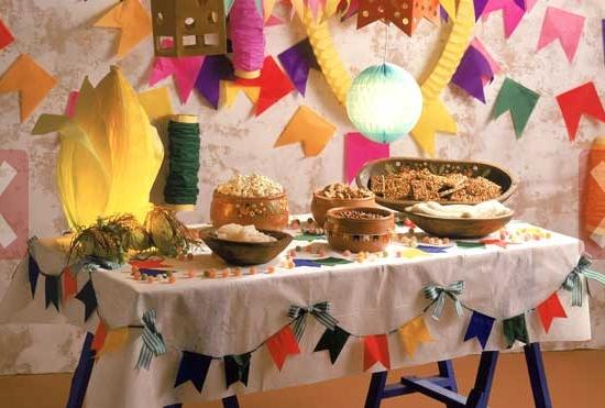 Ideias para a decoraç u00e3o da festa junina dcoracao com blog de decoraç u00e3o e tutorial diy -> Decoração De São João Com Papel Crepom