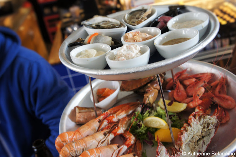 Restaurang Kajutan Seafood Platter Feskekorka Things to Do in Gothenburg Sweden