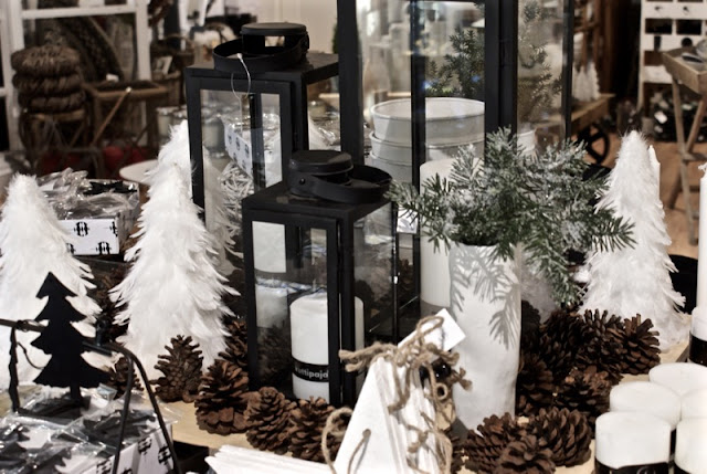 zicos, house doctor, valkoinen joulu, musta lyhty