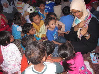 membaca cerita utntuk anak | pgtk darunnajah