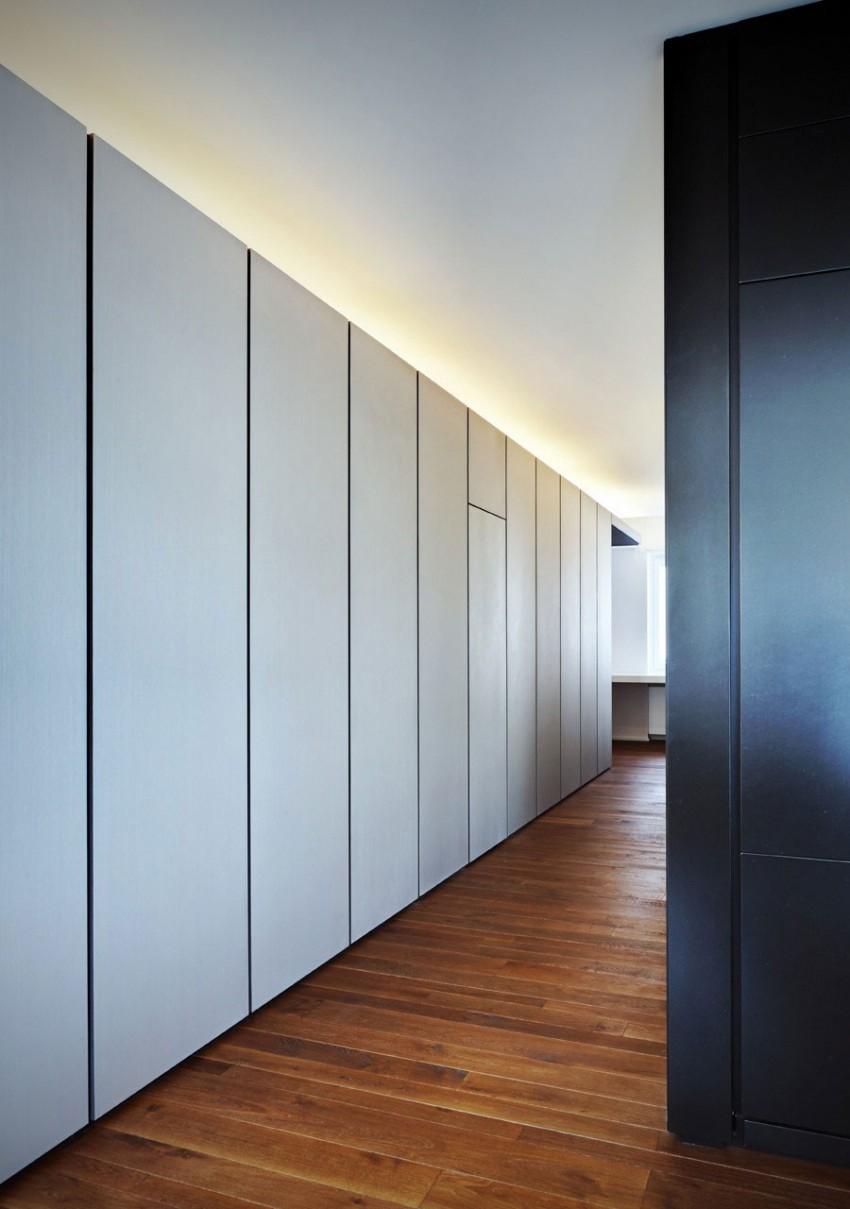 Bridoor s l appartamento t by arkham project - Panelado de paredes ...