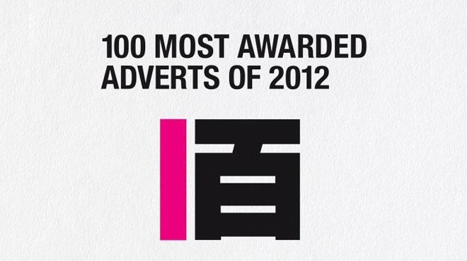 Los 100 anuncios más premiados de 2012