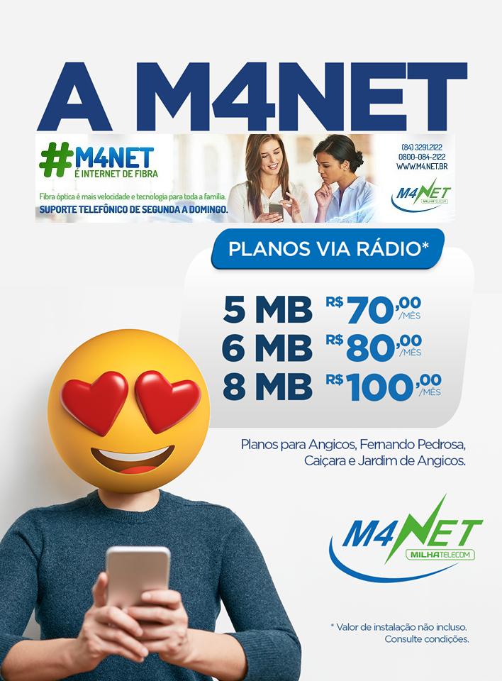 M4NET PLANOS E SERVIÇOS