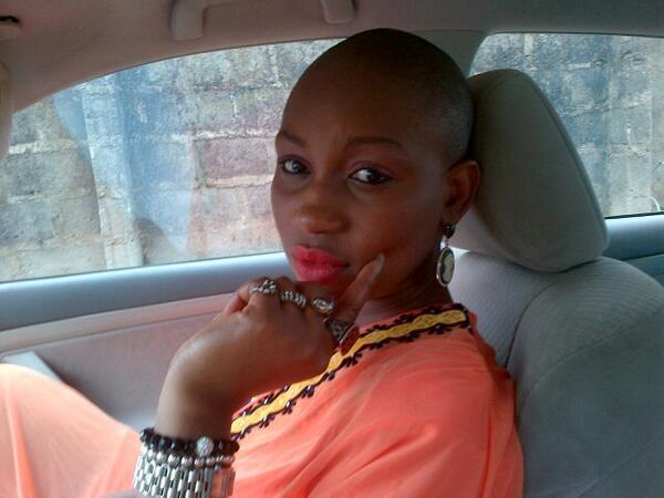ebube nwagbo shave hair