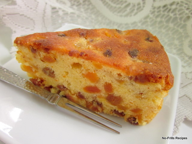 Almond Meal Apricot Cake