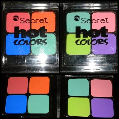 Nowości MySecret - Hot Colors: Revolt Against the Nude i Shake Colors - Swatche!
