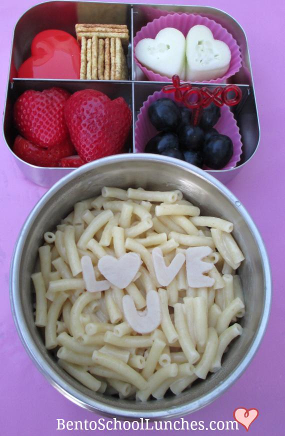 Love U Macaroni & Cheese, Valentine's Lunch
