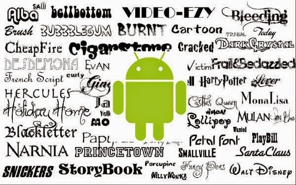 Ganti Font Pada Android