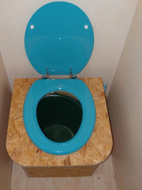 Toilettes sèches en vrai