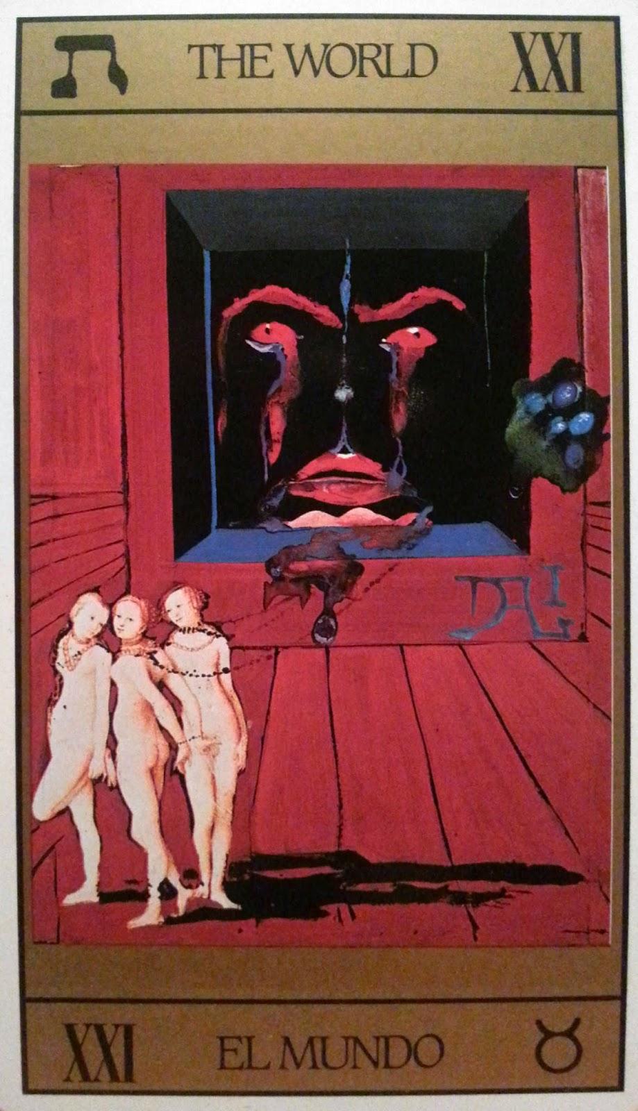 El Mundo - Tarot Dalí