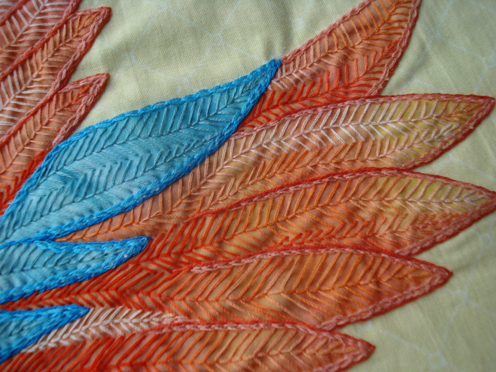 The Nifty Stitcher Bird Of Paradise  Finished