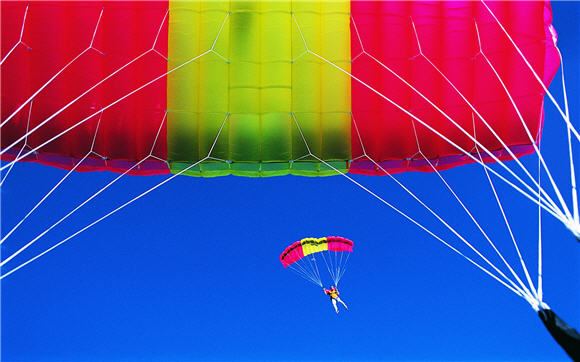 Parachute Adventure Sport Wallpaper