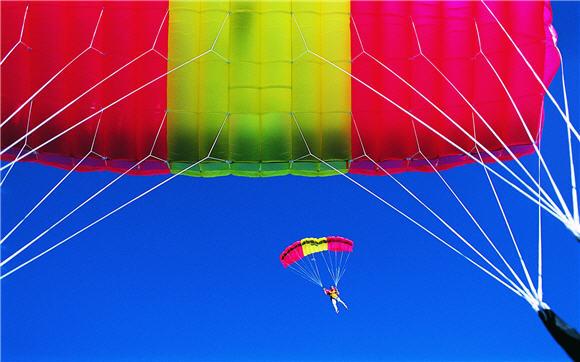 Parachute Adventure Sport Wallpaper