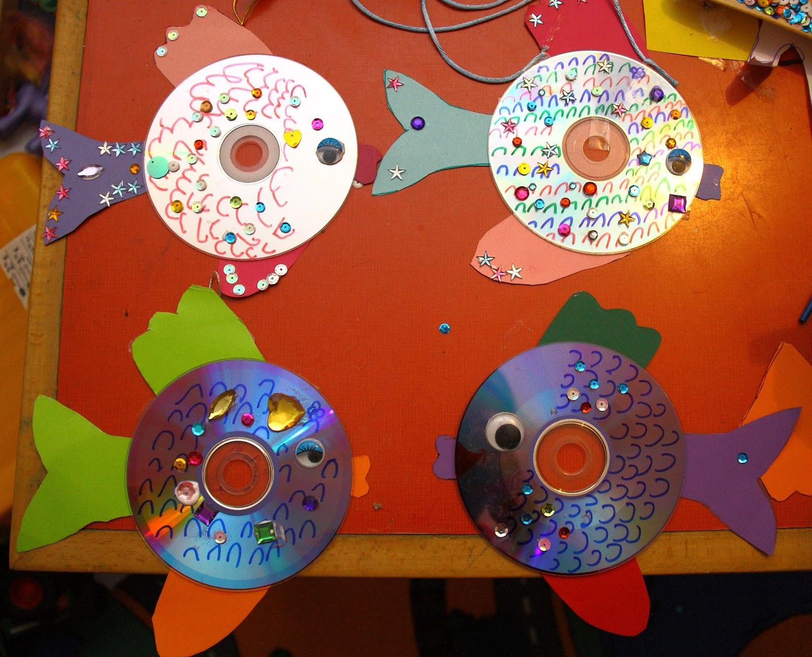 Интересные поделки из старых дисков своими руками 47