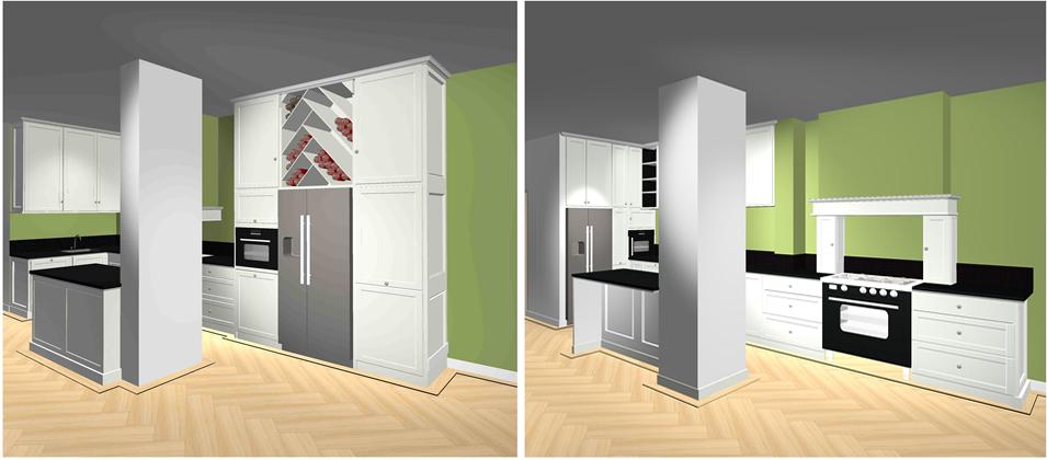 Uitbouw Keuken Jaren 30 : Eigendom van Oock Interiors ? Kamer en-suite jaren 30 stijl