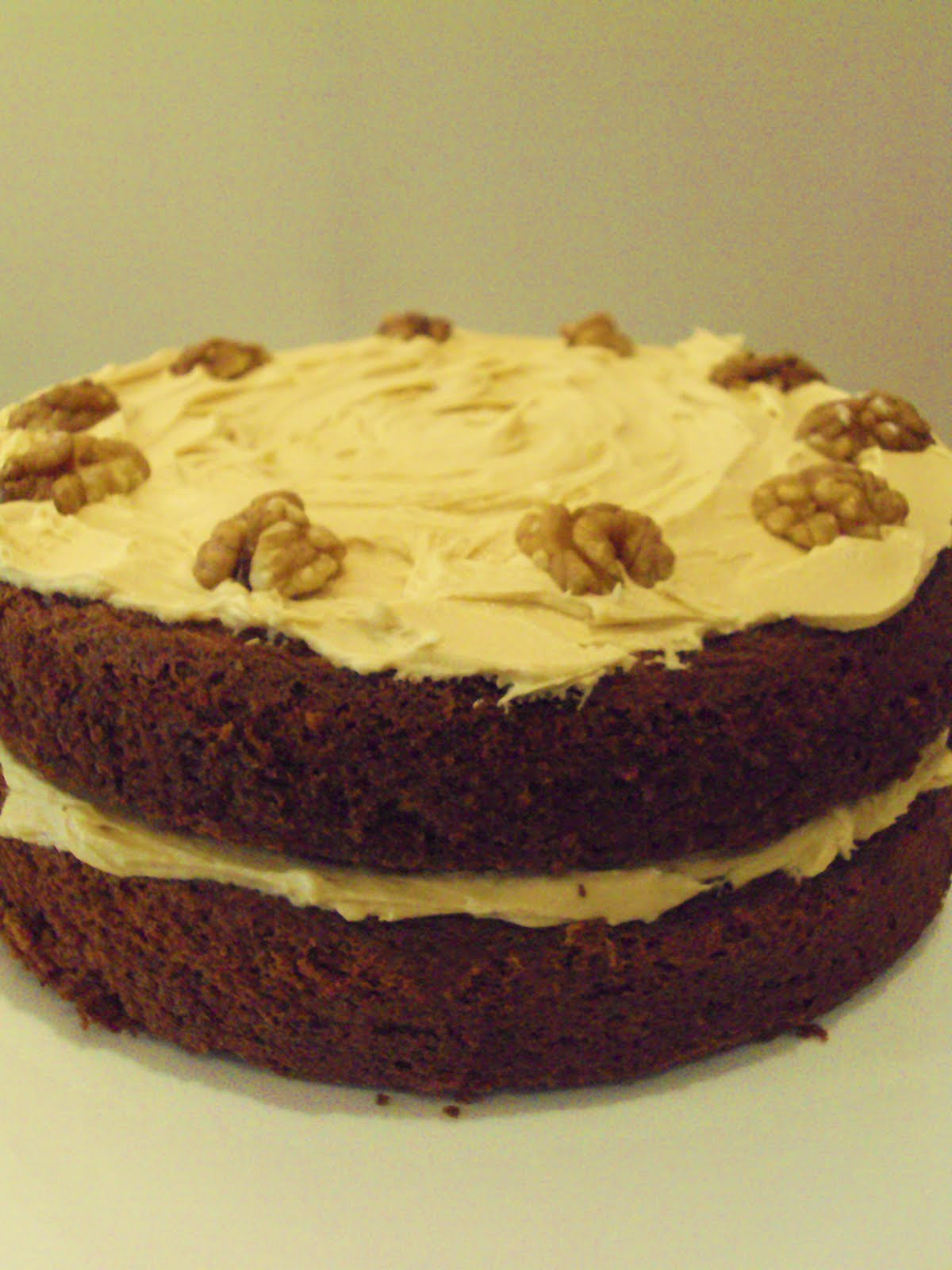 Me, My Food and I: Coffee and Walnut Layer Cake