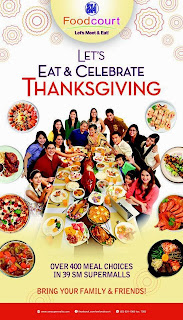 Let's Eat & Celebrate Thanksgiving at SM Foodcourt!