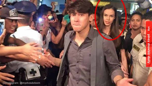 Enchong Dee leaves girlfriend behind at the red carpet