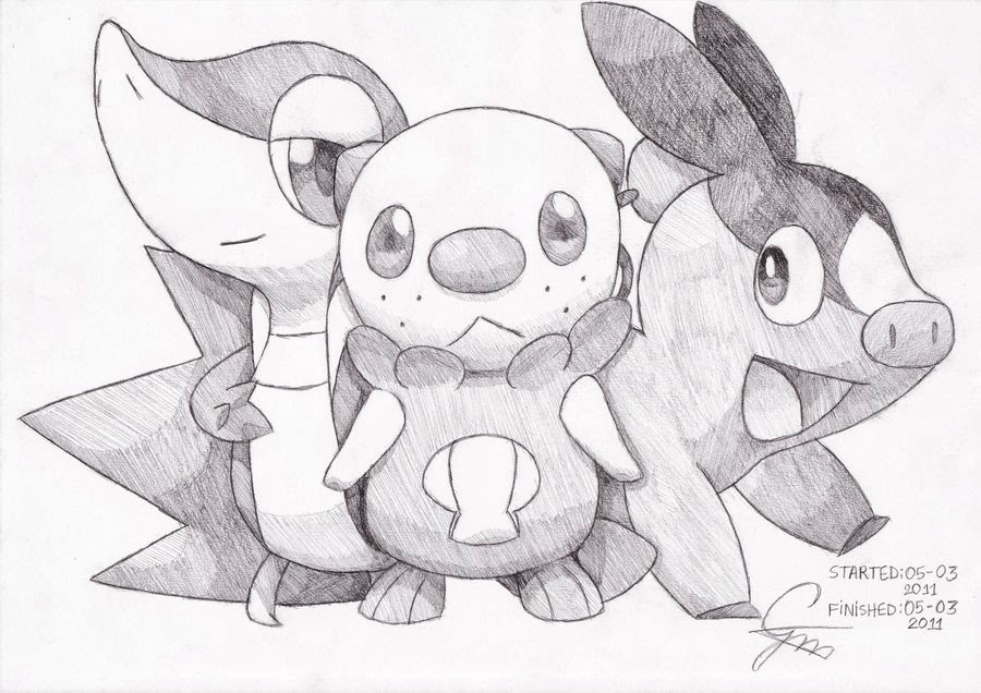 Pokemon Black And White 2 Coloring Pages pokemon black and white