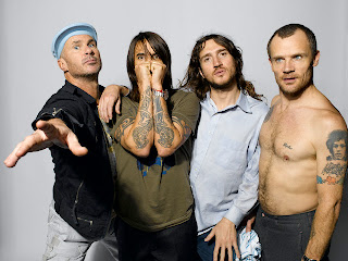 Integrantes do Red Hot Chili Peppers