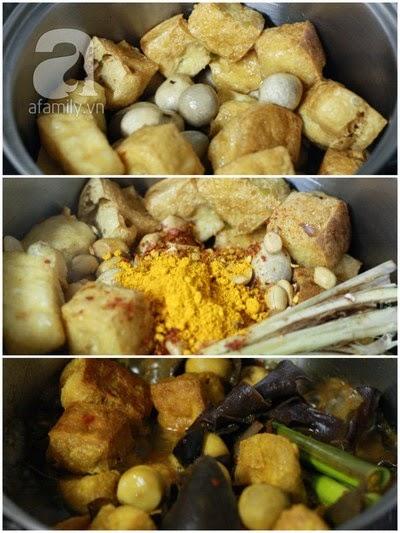 Món đậu phụ kho kiểu Huế với cách làm đơn giản 3