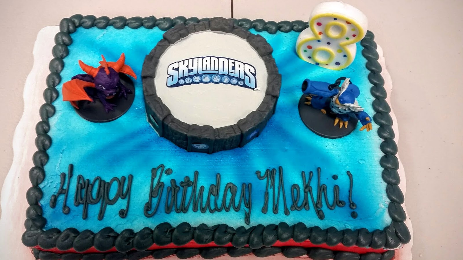 Birthday Cake From Walmart