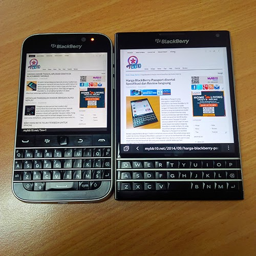 BlackBerry Classic -Browser