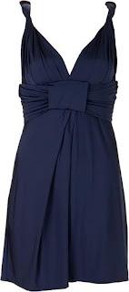 imagens de Vestidos Azul Marinho para festas