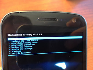 install android 4.1 on galaxy nexus