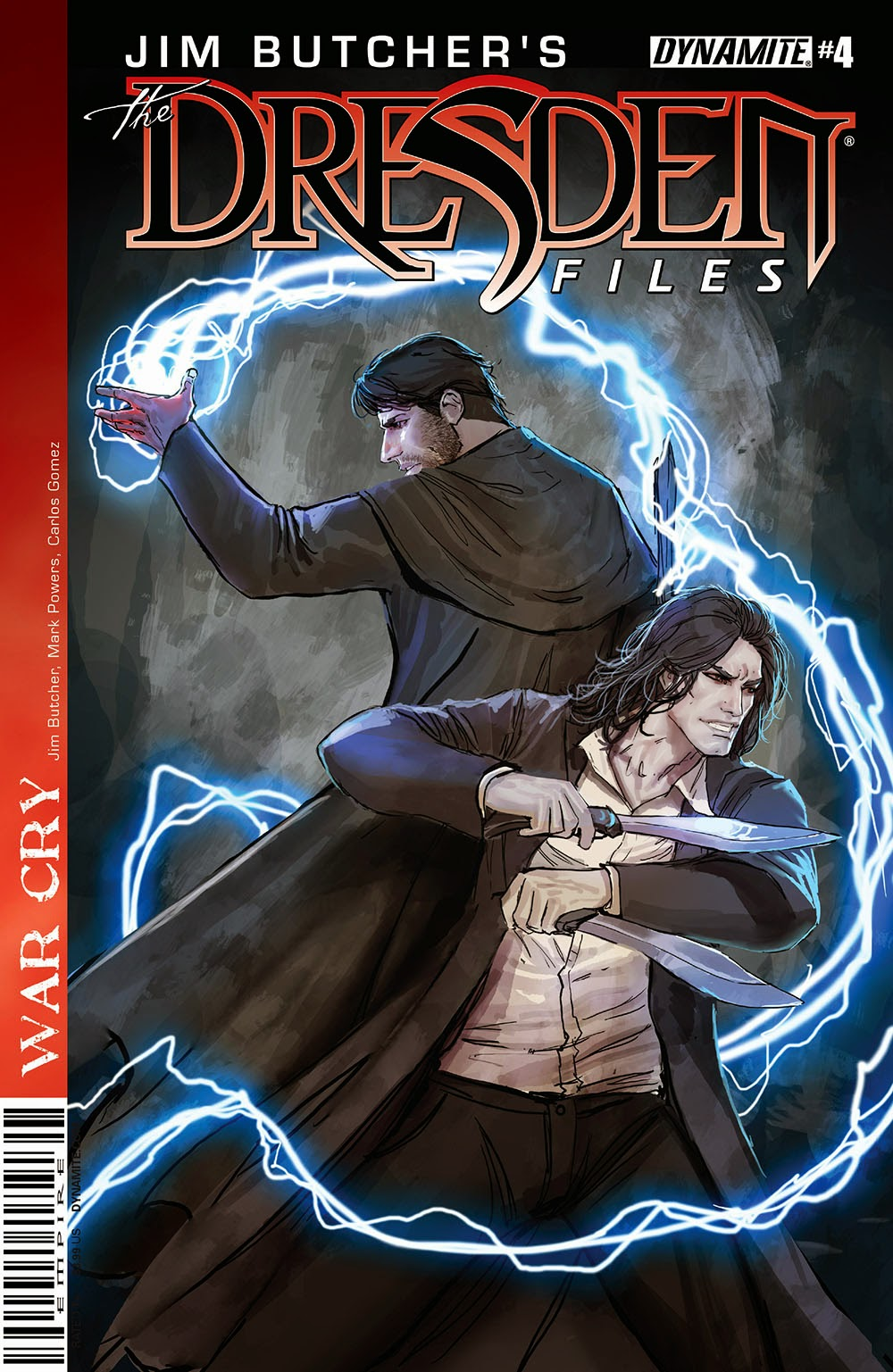 Jim Butcher's The Dresden Files €� War Cry 004 (2014)
