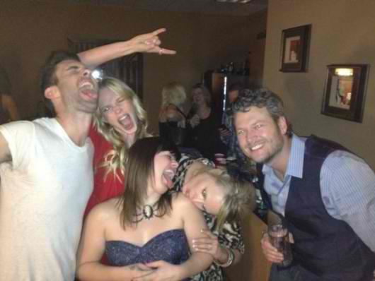 Blake Shelton, Kelly Clarkson, Blake Shelton