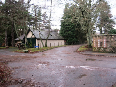 Deeside Walks: the Old Line Road leads to the walk around Ballater Golf Course